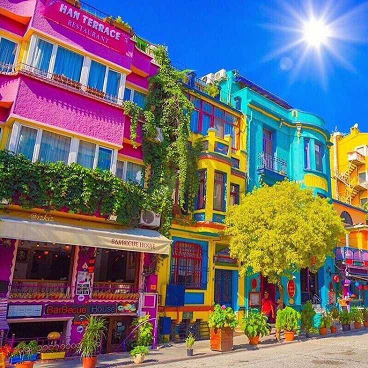 Colorful #Istanbul