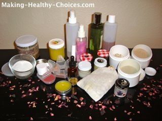 Natural Organic Skin Care, Hair Care and Body Care:   Homemade Recipes & Tips