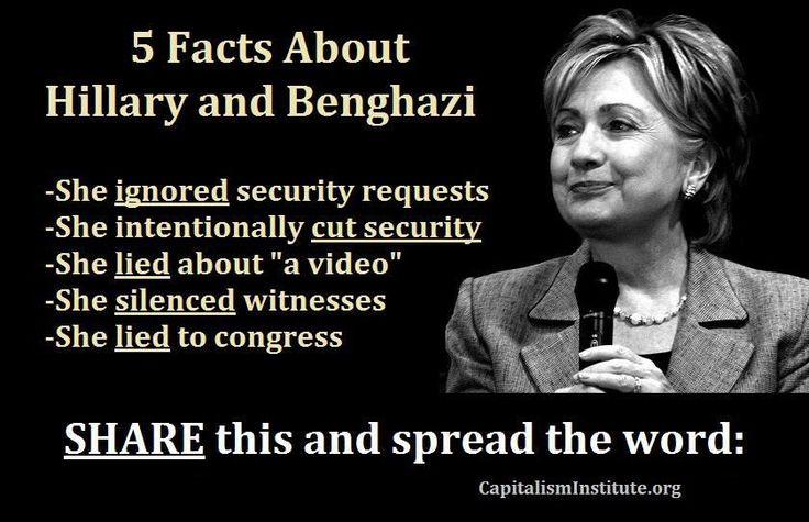 Hillary.... and some Americans actually want her elected President?