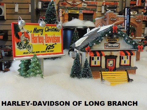 Love the Dept. 56 Harley-Davidson Snow Village!!!  Harley-Davidson/Buell of Long Branch www.hdlongbranch.com