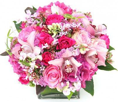 106 best Valentine\'s Day images on Pinterest | Flower arrangements ...