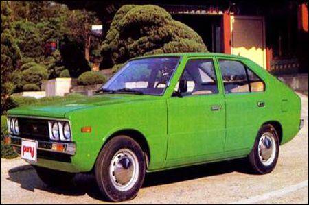 South Korean old Hyundai Pony. I want it!!! www.graysonhyundai.com #hyundai #throwbackthursday
