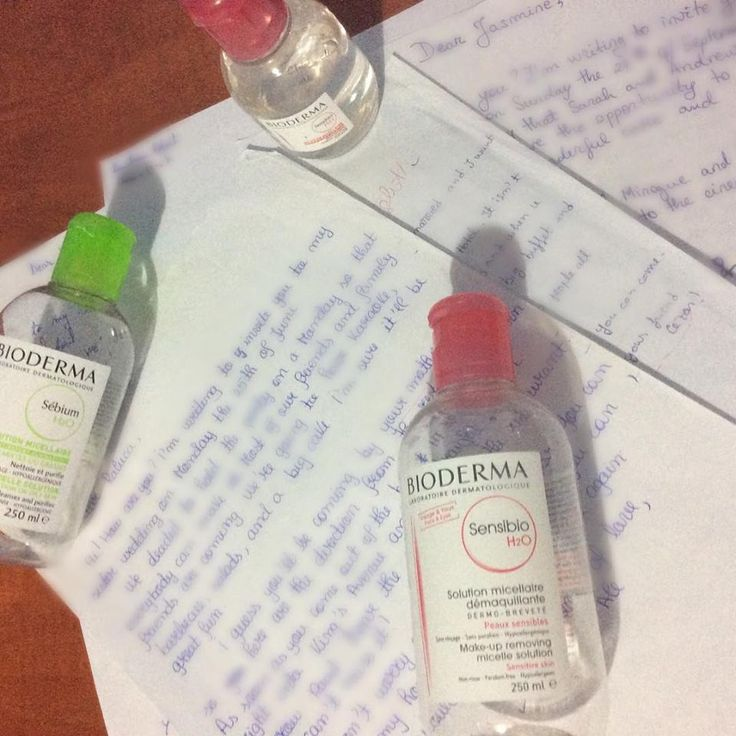 Bioderma and the make up removal lesson