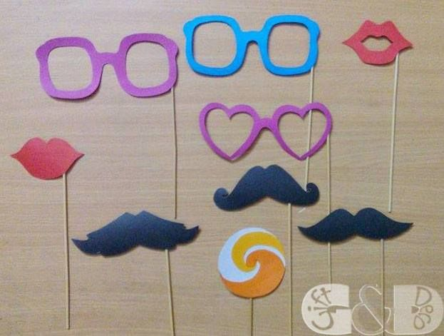 Photobooth Props #props #photobooth #his #hers #heart #event #decoration #giftanddeco1 #bridalshower #party #wedding #reception #birthday #halud #graduationparty #mehendi #night