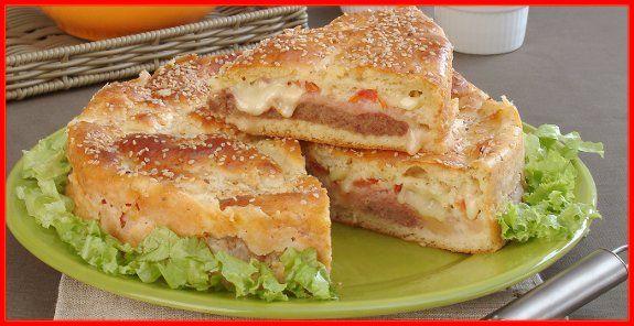 Receitas para pão, tortas salgadas, bolos, pastel, pastas, peixes, carnes, macarrão