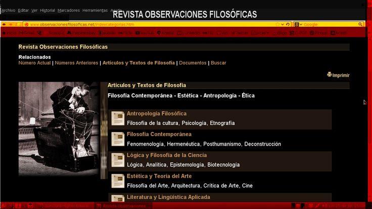 Adolfo Vásquez Rocca Doctor en Filosofía Universidad Complutense de Madrid Doctor en Filosofía  Postgrado Universidad Complutense de Madrid,  BLOG TRANSVERSALES http://philosophieliterature.blogspot.com/ ADOLFO VÁSQUEZ ROCCA http://arteaisthesis.blogspot.com/ THEORIA http://theoriaucm.blogspot.com/ FILOSOFÍA CONTEMPORÁNEA http://filosofoscontemporaneos.blogspot.com/ ESFERAS http://authorarchive.blogspot.com/