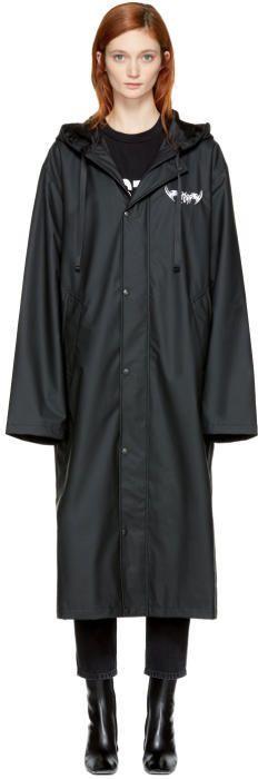 Misbhv Black Tribal 95 Kubo Raincoat