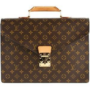 Louis Vuitton Monogram Canvas Serviette Conseiller Briefcase.... I would carry this briefcase around