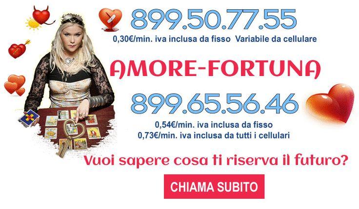 Cartomantistudiosibilla riunisce i migliori cartomanti d'Italia. Prova tu stesso. entra nel nostri sito consulti a basso costo 899507755 http://www.cartomantistudiosibilla.it/
