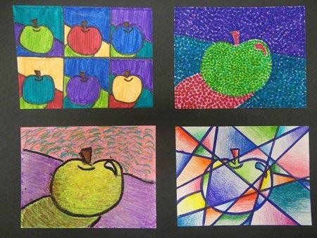 Ellie2117's art on Artsonia - fruit study