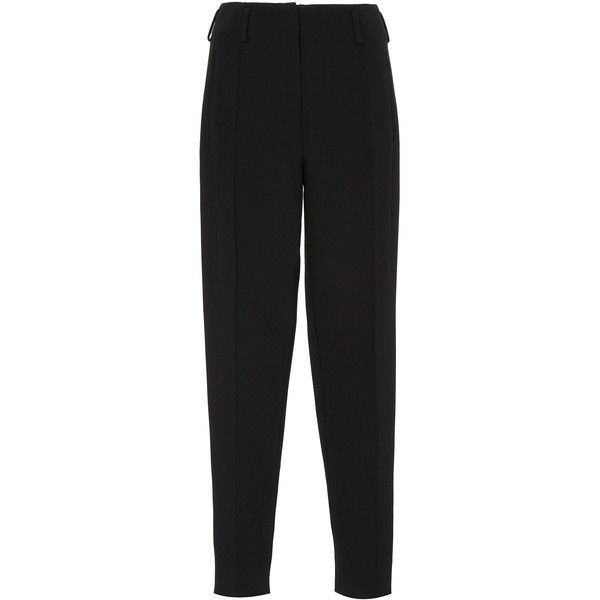 Protagonist     Skinny Cigarette Pant (17 545 UAH) ❤ liked on Polyvore featuring pants, black, high-waisted pants, skinny trousers, skinny leg pants, skinny pants and high waisted cigarette trousers