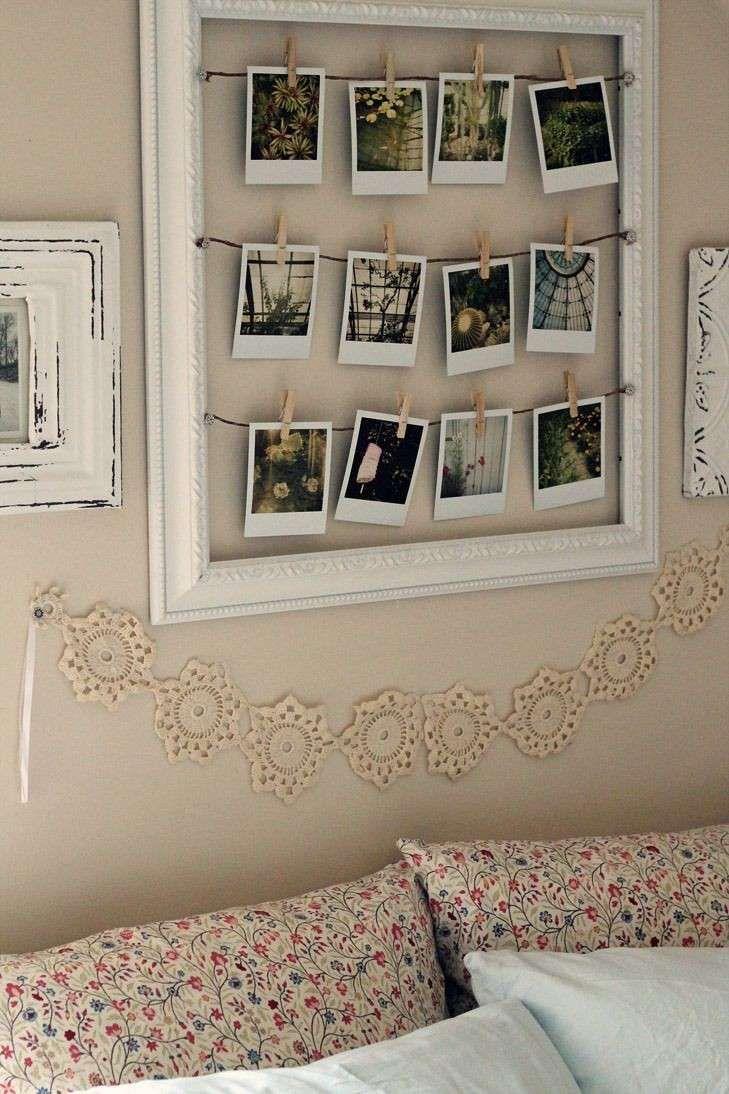 Idee X Decorare Pareti decorare le pareti con foto   stanza fai da te, camera