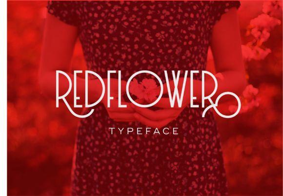 RedFlower Typeface by Type & Studio™ on @creativemarket