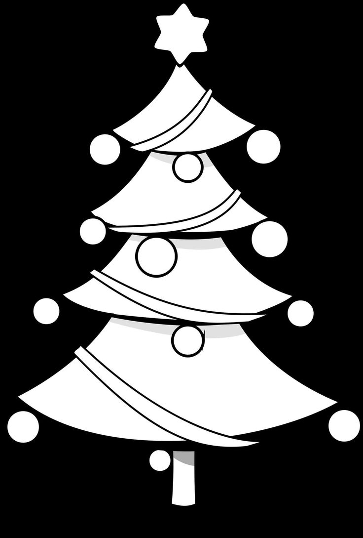Best 25 Christmas tree coloring