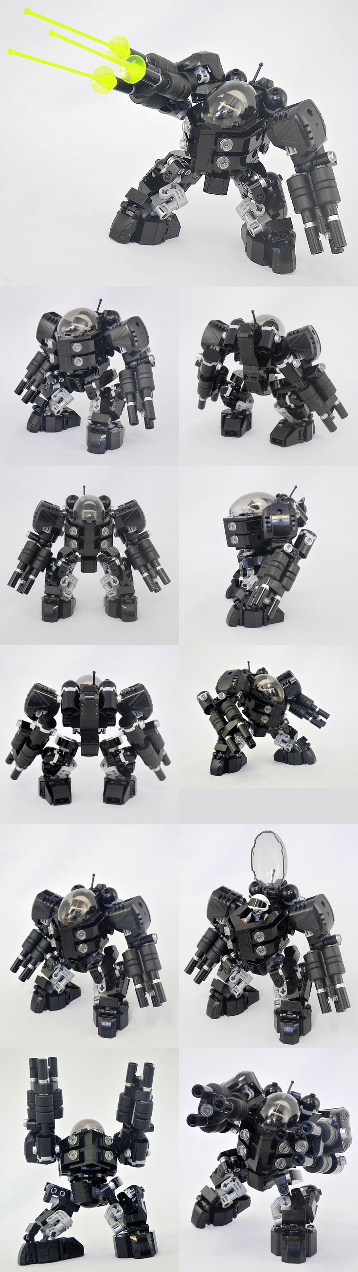 Lego Mech. Before pinterest I didn't know Lego could look so good.