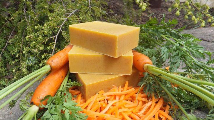 Sabonete de mel com cenoura