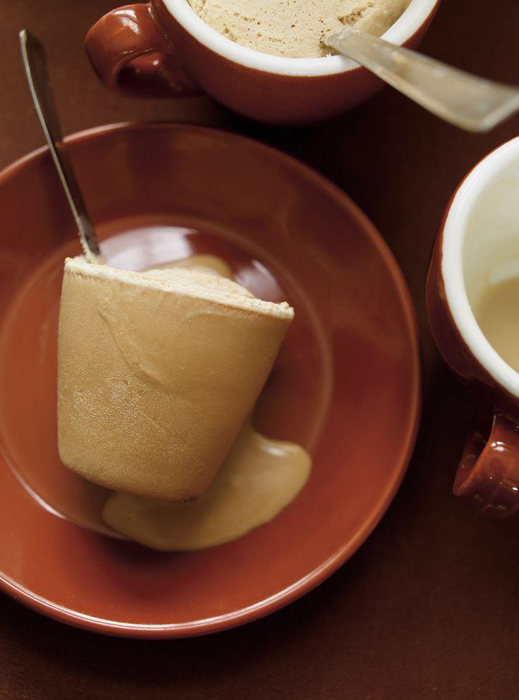 Recette de Ricardo de café glacé au chocolat blanc