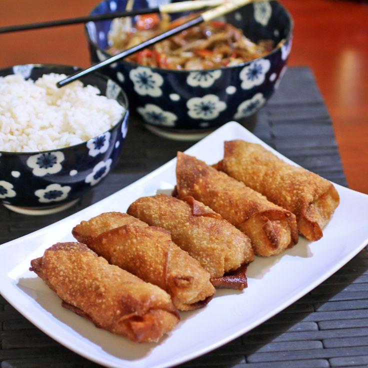Shrimp Egg Rolls - Recipes Food and Cooking