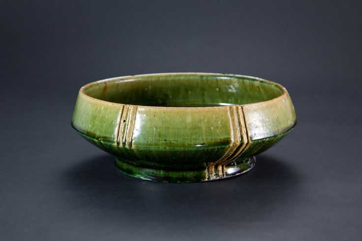 織部刻文鉢 Bowl with engraved, Oribe type 2012