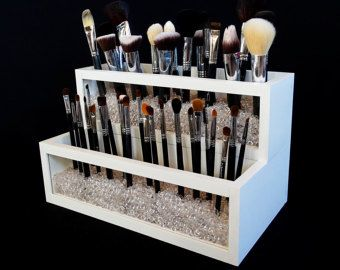 Makeup Brush Holder Makeup Organize Dorm Decor by OhLOLAandco