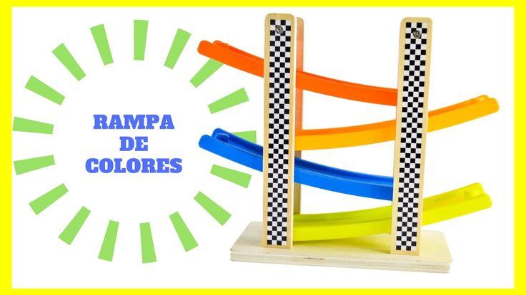 RAMPA de Coches + Colores y Números / Cars RAMP + Colours and Numbers - La Casa del Juguete - YouTube