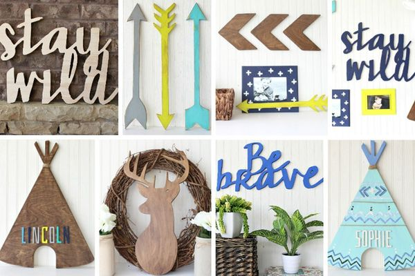 Wood Decor - 'Stay Wild' Collection