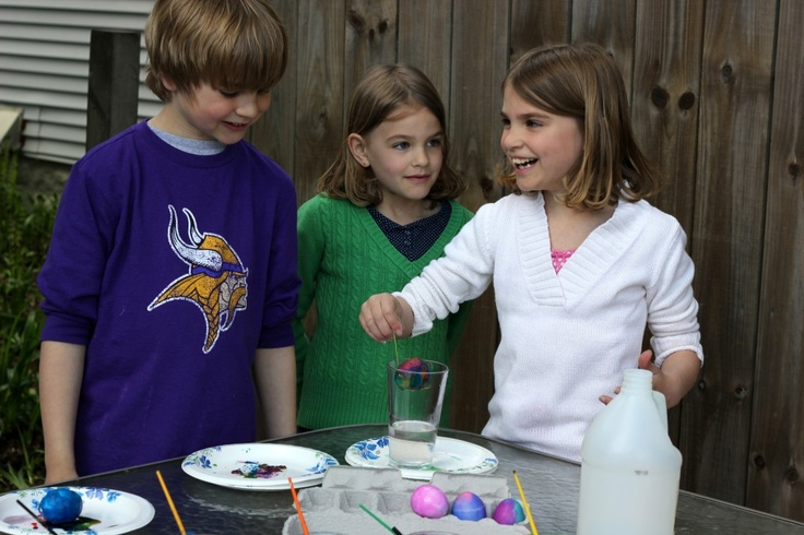 Volcano Easter Egg Experiment  L