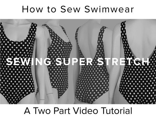 ADVANCED: Swimsuit tutorial with a standard home sewing machine
