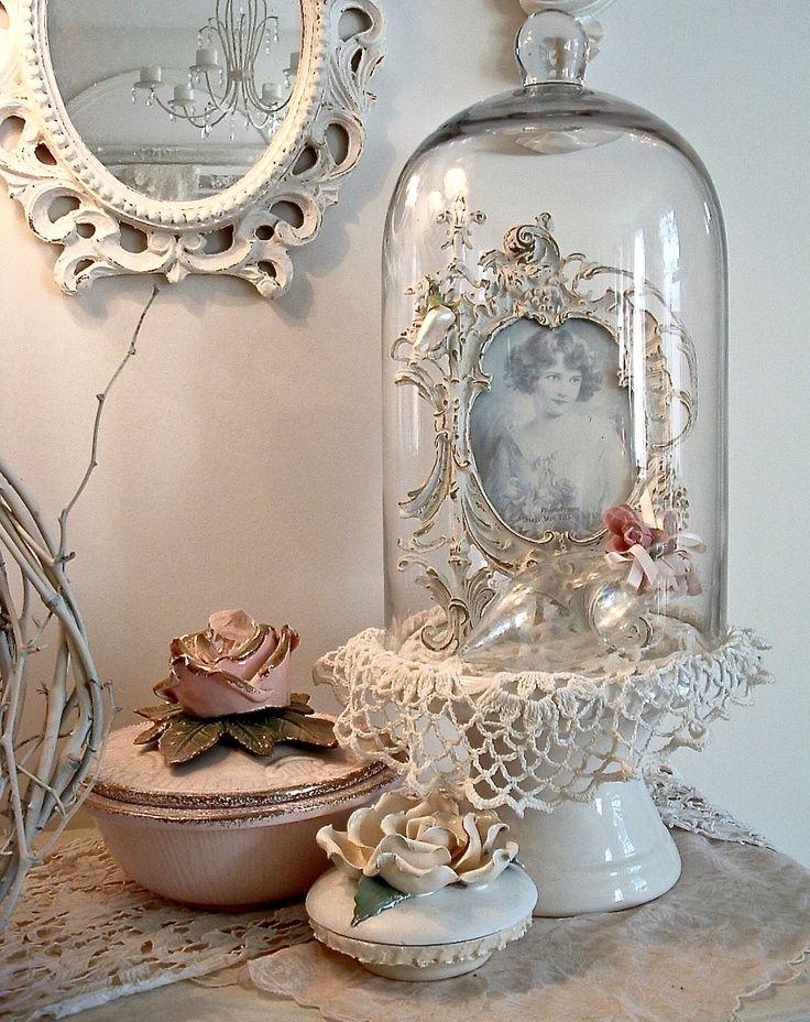 Meer dan 1000 idee n over cloche decor op pinterest for Cloche decorative verre