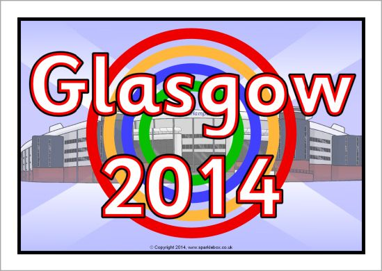 Glasgow 2014 display poster (SB10468) - SparkleBox