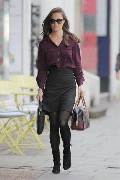 Pippa Middleton Photos - Pippa Middleton is dressed for work as she heads out in Chelsea. - Pippa Middleton Heads to Work