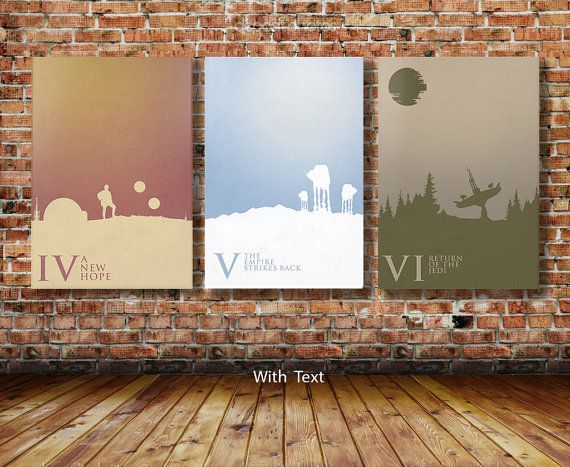 Star Wars Trilogy Limited Edition Art Prints by CreativeSpectator
