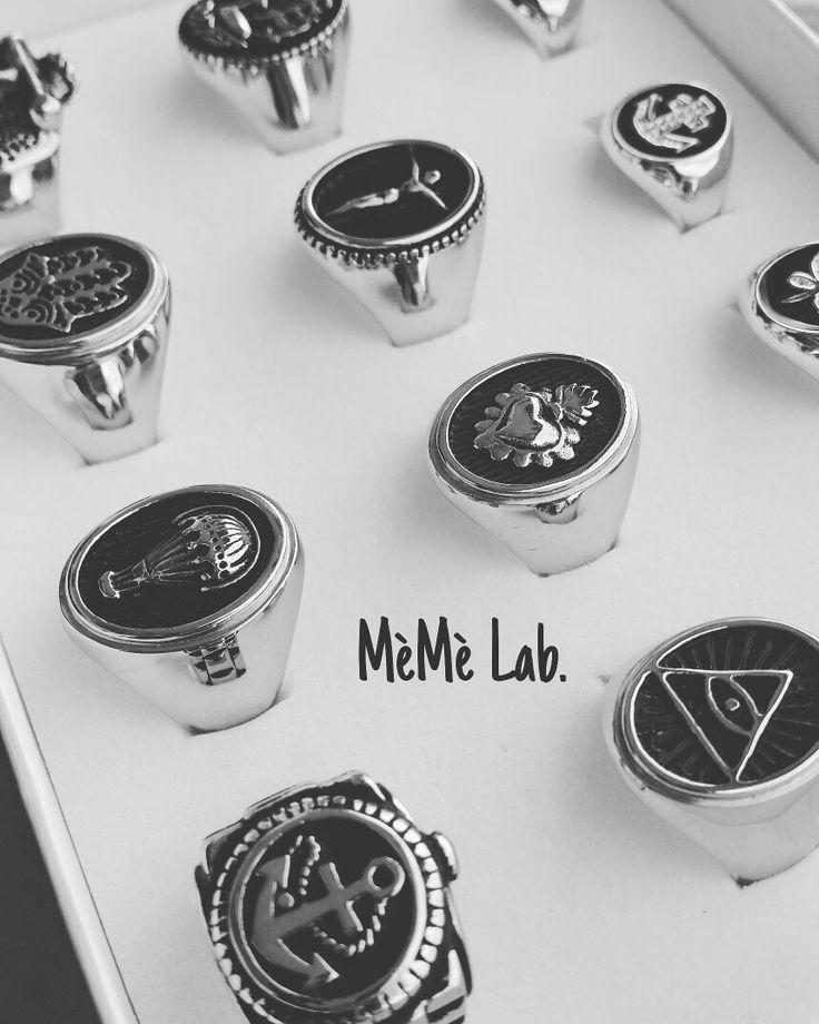 Anelli MèMè Lab. www.memelabaccessori.com