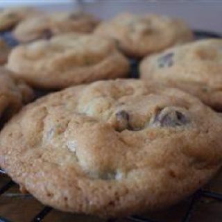 original nestle toll house chocolate chip cookies. sometimes i replace half the chips with white chocolate.