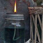 Mason Jar DIY Oil Lantern