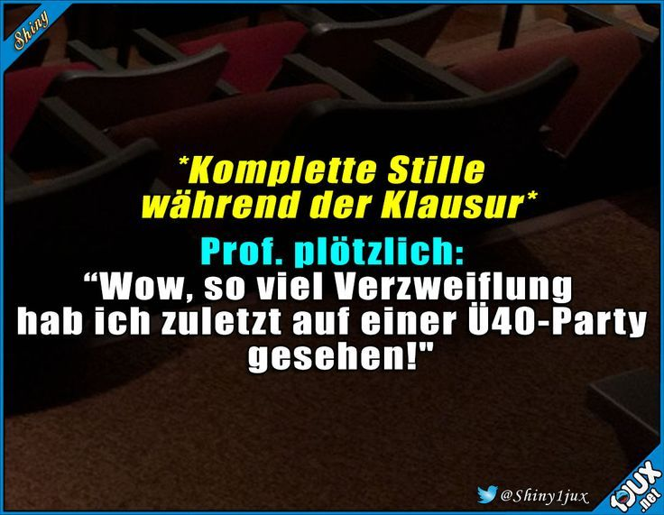 Wenigstens der Prof. hat seinen Spaß. #Studentenl…