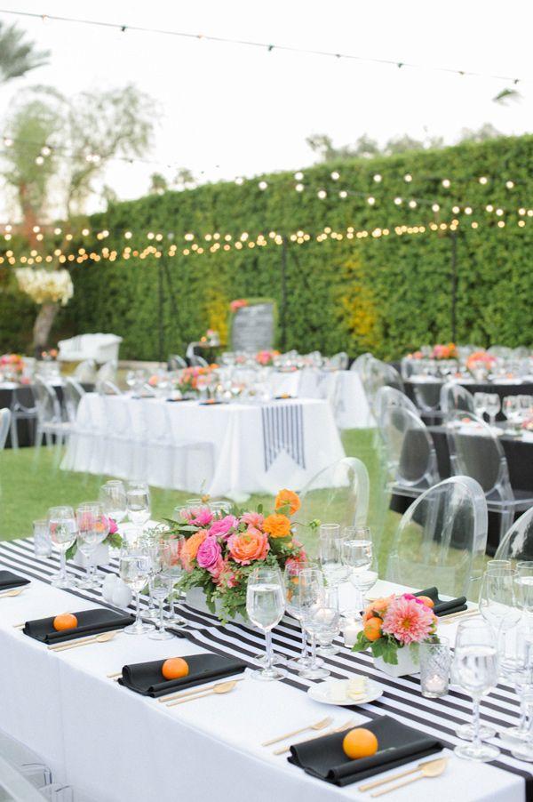 Retro Modern Wedding In Palm Springs