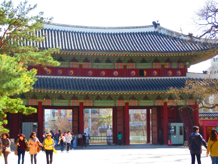 Visiting Changdeok palace in Seoul