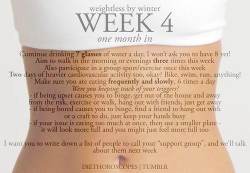 weightless by winter week 4