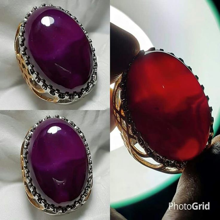 Natural Purple Chalcedony
