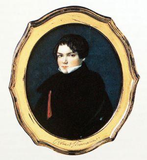 Robert Schumann im Alter von ca. 20 Jahren