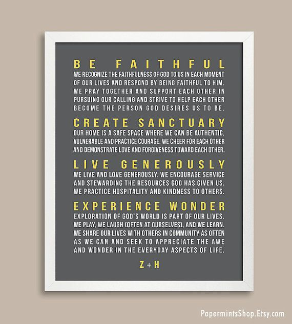 15 Best Our Mission Statement Images On Pinterest Family Mission