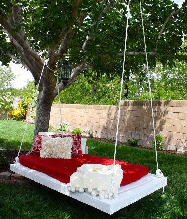 Les 25 meilleures id es de la cat gorie balancelle sur pinterest - Petit insecte rouge jardin besancon ...