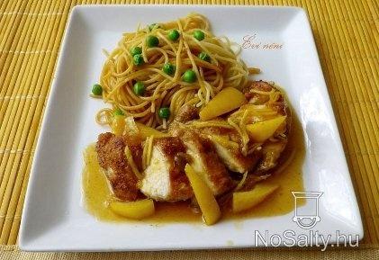 Kínai mézes-gyömbéres-citromos csirke
