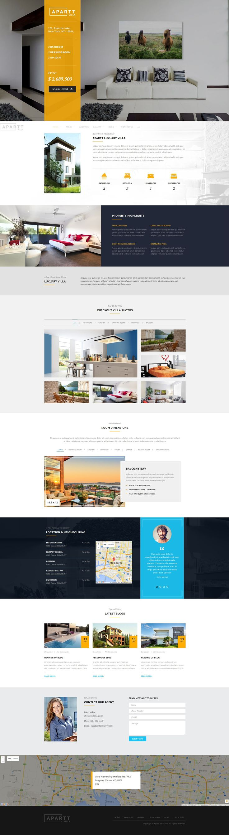 55 Best WordPress Real Estate Themes – June 2016