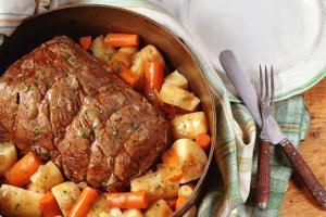 Pot Roast with Vegetables - Spencer Jones/Photographer's Choice/Getty Images