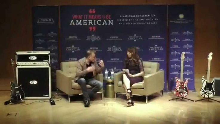 Eddie Van Halen Smithsonian Talk 2-12-2015