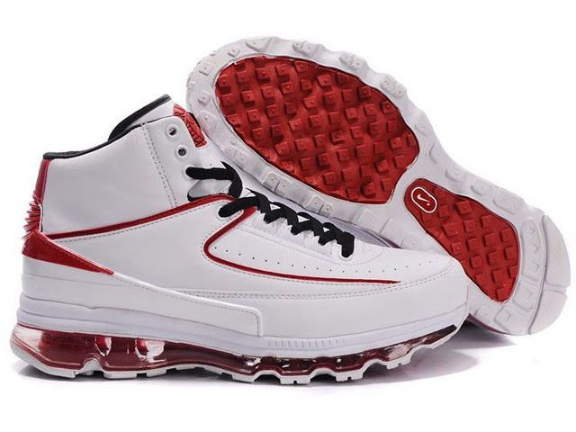 Cheap high quality Men's Nike Air Max Jordan 2 Shoes White/Red on hot sale  from NIKE official shop OFF.
