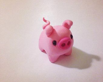 polymer clay pig - Google Search