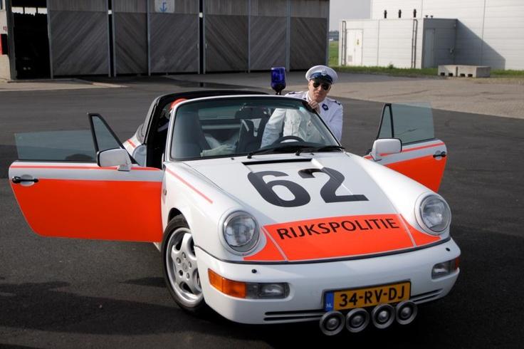 Porsche 911 Dutch police